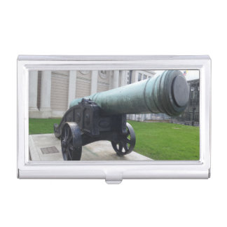 Old Cannon Business Card Holder