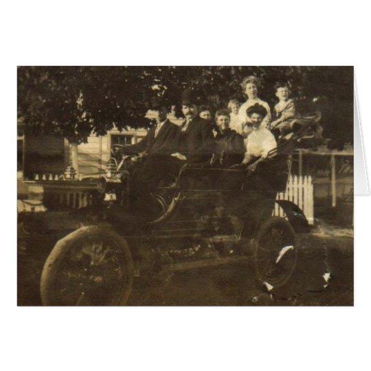 Old Car 1 Card