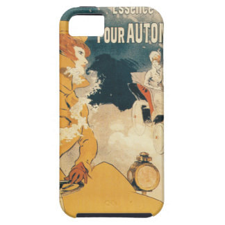 Old car automobile French advertisement Tough iPhone 5 Case
