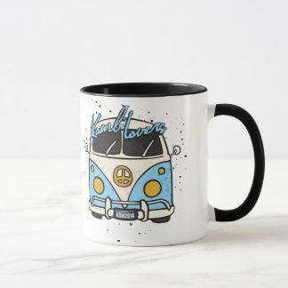 Old car - blue mug