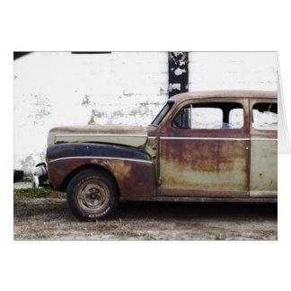 Old Car Card