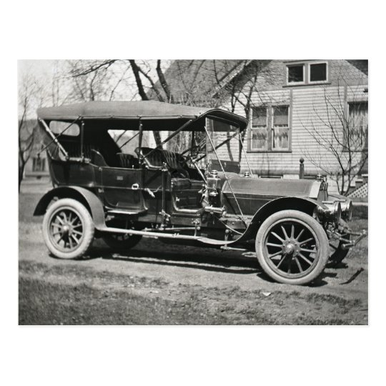 Old Car Postcard