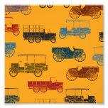Old Car & Wagon Pattern