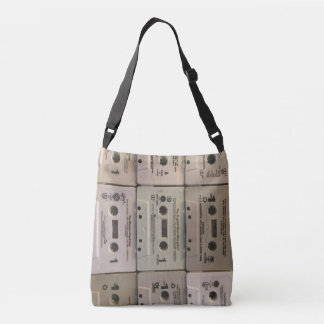 Old cassette tapes bag