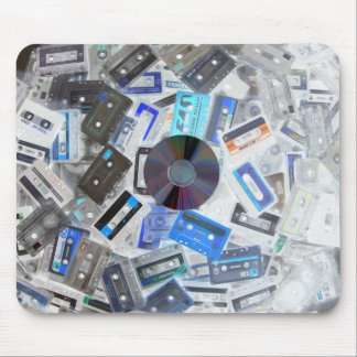 Old Cassettes Mouse Pad