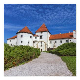 Old castle, Varazdin, Croatia Card