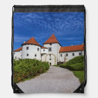 Old castle, Varazdin, Croatia Drawstring Bag