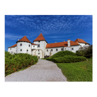 Old castle, Varazdin, Croatia Postcard