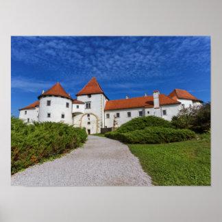 Old castle, Varazdin, Croatia Poster