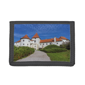 Old castle, Varazdin, Croatia Tri-fold Wallets