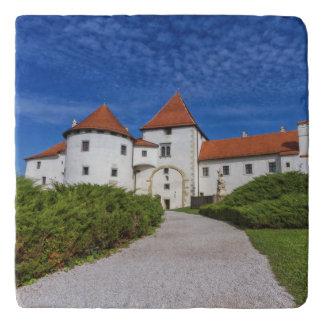 Old castle, Varazdin, Croatia Trivet
