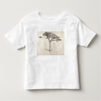 Old Cedar Tree in Botanic Garden, Chelsea, 1854 (p Toddler T-Shirt