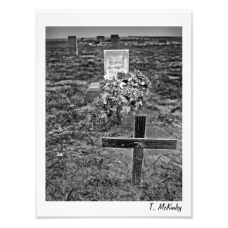 Old Cemetery Art Print Photo