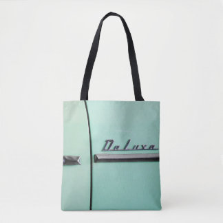Old Chevrolet Deluxe Tote Bag