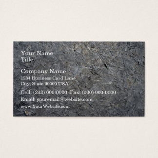 Old Chipboard Business Card