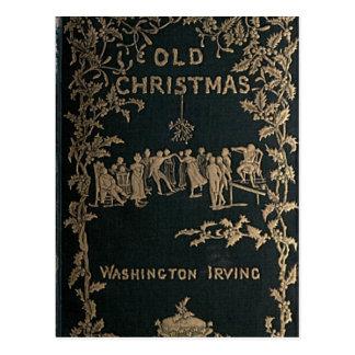 Old Christmas - Washington Irving Postcard