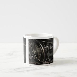 Old Chrysler Dashboard Close-up Espresso Mug
