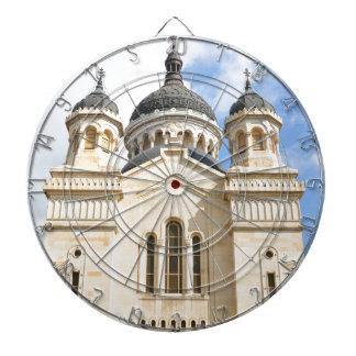 Old church in Cluj Napoca, Romania Dartboard With Darts
