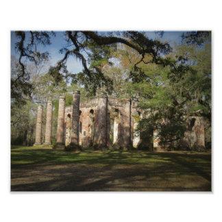 Old church Ruins Photo Print