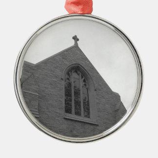 Old church steeple christmas ornament