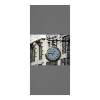 Old-clock-with-roman-letters OLD FASHIONED CLOCK R Customised Rack Card