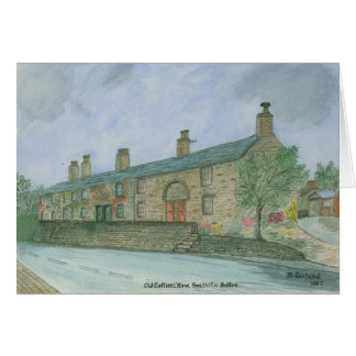 Old Collier's Row, Smithills, Bolton Card