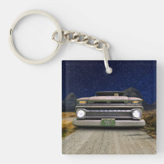 Old Colorado Pickup Truck Toasted Autos Keychain