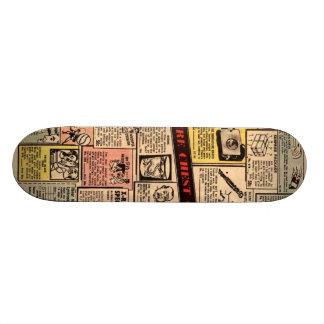 Old comic ad deck #2 20 cm skateboard deck