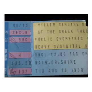Old Concert 1 - educatedbrainfart Postcard