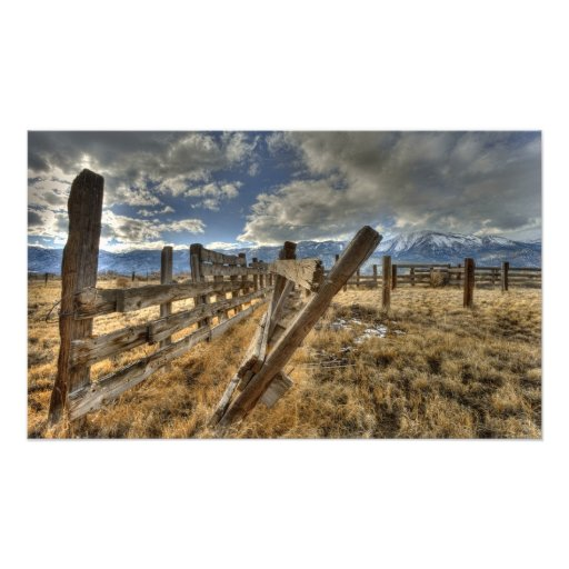 Old Corral Photo Art