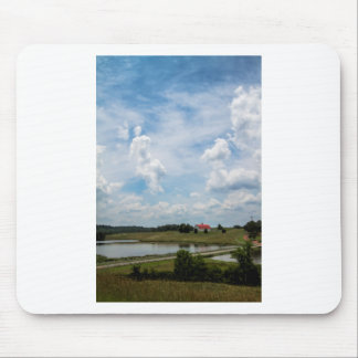 Old Country Barn Landscape Mouse Pad