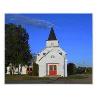 Old Country Church Photo Art
