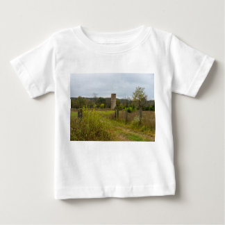 Old Country Silo Landscape Baby T-Shirt