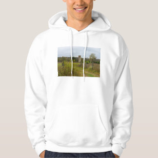 Old Country Silo Landscape Hoodie