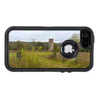 Old Country Silo Landscape OtterBox Defender iPhone Case