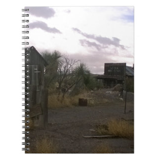 Old Country Western Ghost Town Notebook