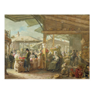 Old Covent Garden Market, 1825 Postcard