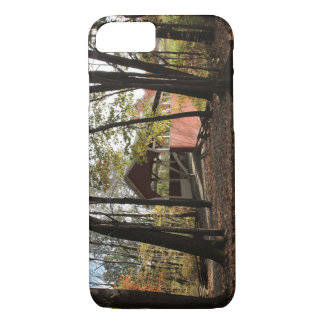 Old Covered Bridge. iPhone 7 Case