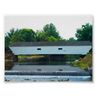 Old Covered Bridge Posters