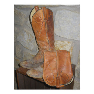 Old Cowboy Boots are the Best Cowboy Boots! 21.5 Cm X 28 Cm Flyer
