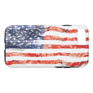 Old Creased American Flag iPhone 8/7 Case