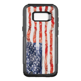 Old Creased American Flag OtterBox Commuter Samsung Galaxy S8+ Case