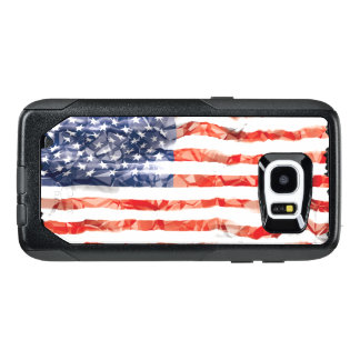Old Creased American Flag OtterBox Samsung Galaxy S7 Edge Case