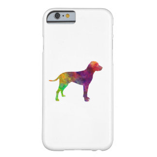Old Danish Pointer in watercolor Barely There iPhone 6 Case