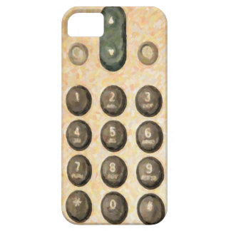 Old Dial Pad  iPhone 5  Barely There Case-Mate iPhone 5 Cover