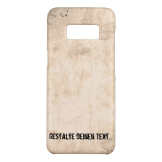 Old Dirty Background Case-Mate Samsung Galaxy S8 Case