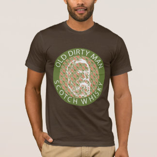 Old Dirty Man Scotch Whisky T-Shirt