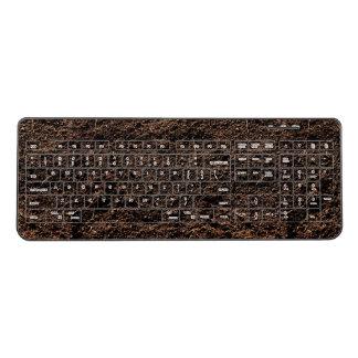 Old Dirty Wireless Keyboard
