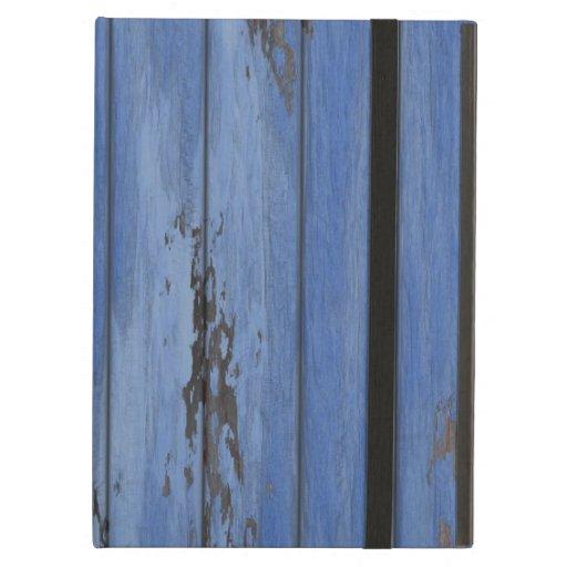 Old Distressed Grungy Worn Wood Wooden Barn Wall iPad Folio Case