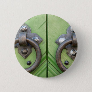 Old door 6 cm round badge